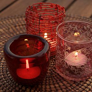 Romantische Balkonbeleuchtung