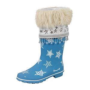 blauer Nikolausstiefel